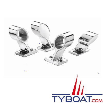 VETUS - Embout inox arrière pour tube 25 mm (inox)