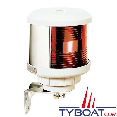 VETUS - Feu babord (montage sur côté) boîtier blanc(ampoule non fournie)