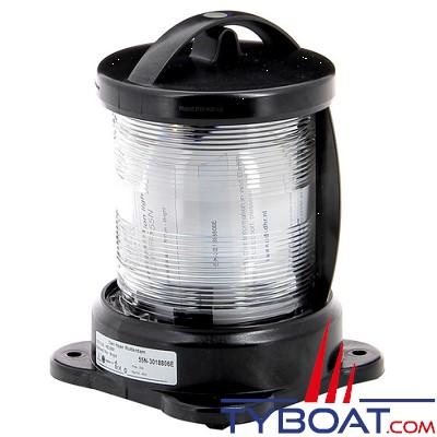 Vetus - Feu de mât (montage sur socle ) boîtier noir (ampoule non founie)