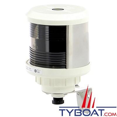 VETUS - Feu de poupe (montage sur côté) boîtier blanc(ampoule non founie)