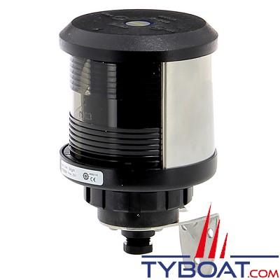 VETUS - Feu de poupe (montage sur côté) boîtier noir (ampoule non founie)
