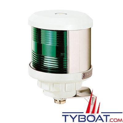 VETUS - Feu tribord (montage sur côté) boîtier blanc(ampoule non fournie)