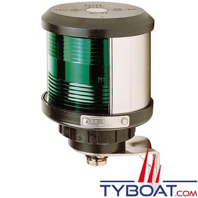 VETUS - Feu tribord (montage sur côté) boîtier noir (ampoule non fournie)