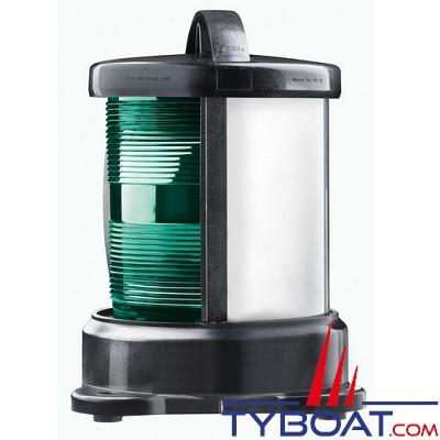 Vetus - Feu tribord (montage sur socle) boîtier noir (ampoule non fournie)