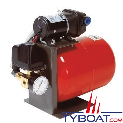 Vetus - Groupe d'eau HYDRF1219 avec régulateur de pression - 17 Litres/minute - 12 Volts