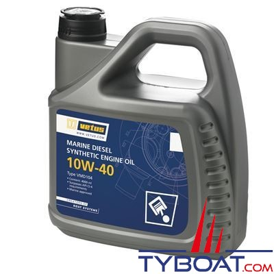 VETUS - Huile VETUS Marine Diesel SAE 10W-40 1 litre