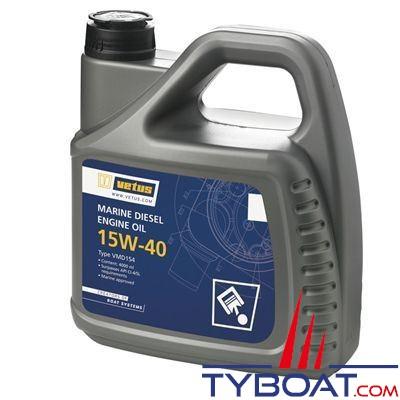 VETUS - Huile VETUS Marine Diesel  SAE 15W-40 1 litre