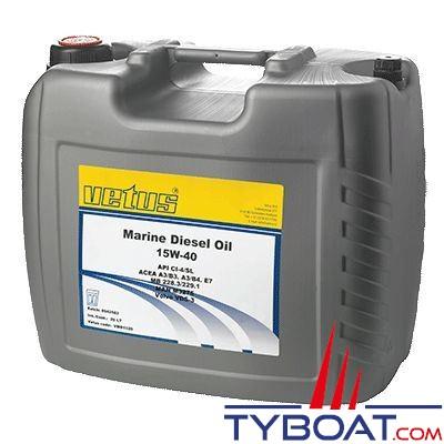 VETUS - Huile VETUS Marine Diesel SAE 15W-40 20 litres