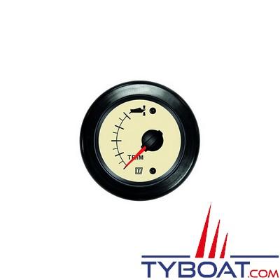 VETUS - Indicateur de trim pour Z-drive 12/24 Volts beige