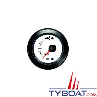 VETUS - Indicateur de trim pour Z-drive 12/24 Volts blanc