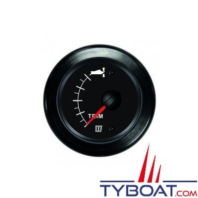 VETUS - Indicateur de trim pour Z-drive 12/24 Volts - noir
