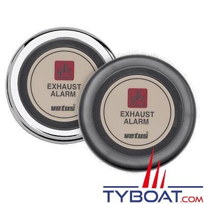 VETUS - Indicateur pour alarme de température d'échappement 24 Volts beige