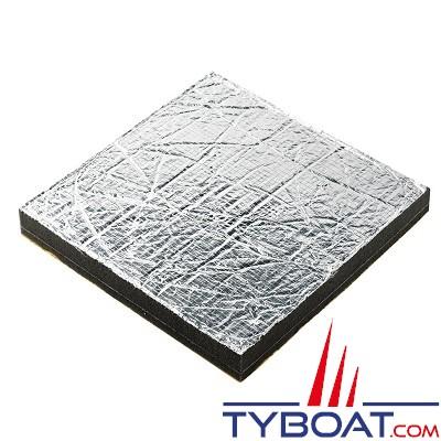 Vetus isolation phonique sonitech simple 40mm aluminium 600 x 1000 mm vet - Garantie isolation phonique ...