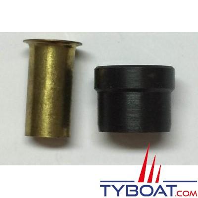 VETUS - Jeu de supports Ø 6 mm et olives 2 x Ø 8 mm pour HS04N (les 10 pièces)