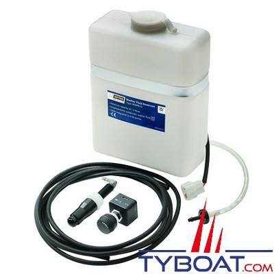 VETUS - kit complet de lavage pare brise incluant réservoir et pompe 24 Volts