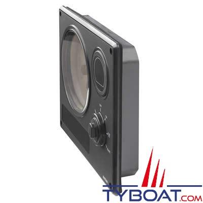 Vetus MP34 - Tableau de bord étanche Vetus MP34 cadran noir 12V  4 instruments (0-4000 rpm)