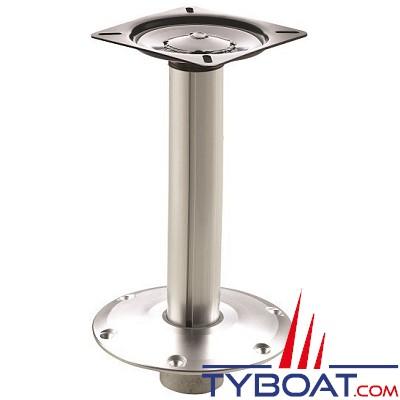 VETUS - Pied de siège fixe avec réglage rapide - hauteur 33 cm