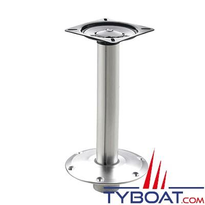 VETUS - Pied de siège fixe avec réglage rapide - hauteur 38 cm
