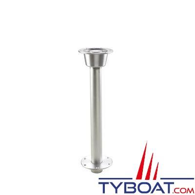 VETUS - Pied de table fileté et amovible hauteur 68.50 cm