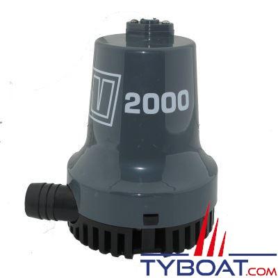 VETUS - Pompe de cale immergée 2000 - 6600 Litres/heure - 12 Volts sortie 28,5mm