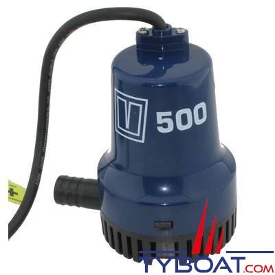 VETUS - Pompe de cale immergée  500 - 1900 Litres/heure -12 Volts sortie 19mm