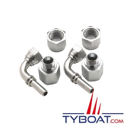 VETUS - Raccord simple coudé 10 mm pour filtre gas oil