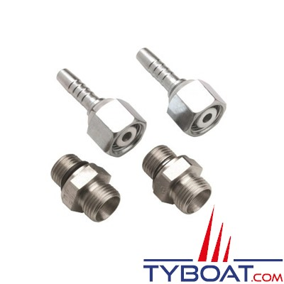 VETUS - Raccord simple droit 8 mm pour filtre gas oil