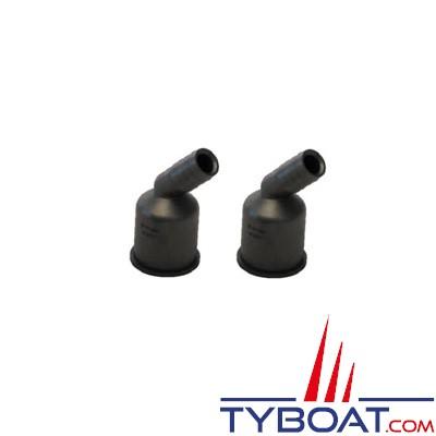 VETUS - Raccords plastiques Ø 19mm pour Y3V, Y3C et YNRE - 2 pièces