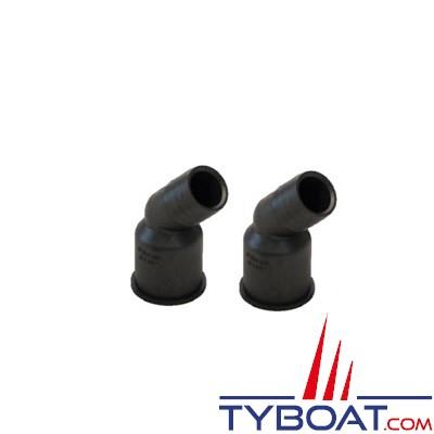 VETUS - Raccords plastiques Ø 28mm pour Y3V, Y3C et YNRE - 2 pièces