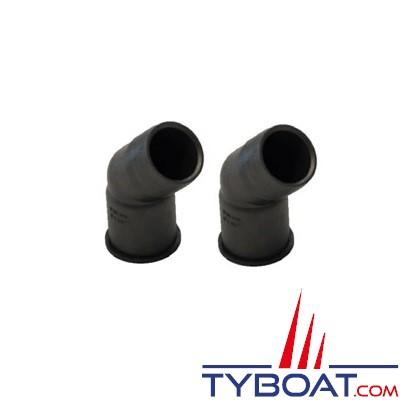 VETUS - Raccords plastiques Ø 38mm pour Y3V, Y3C et YNRE - 2 pièces
