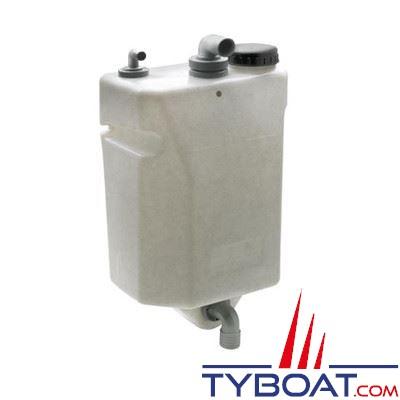 VETUS - Réservoir eaux usées 60 litres pour montage sur paroi verticale complet