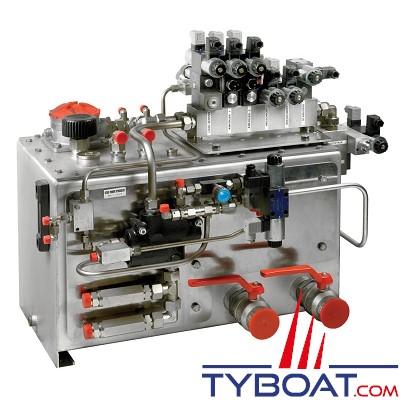 VETUS - Réservoir hydraulique 130 litres (unités de commande et de réglage exclus)