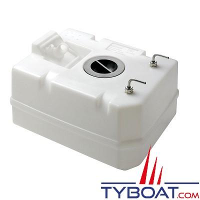 VETUS - Réservoir synthétique pour gas-oil 40 l raccords inclus Ø 8 mm tuyau carburant