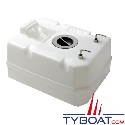 VETUS - Réservoir synthétique pour gas-oil 80l raccords inclus Ø 8 mm tuyau carburant
