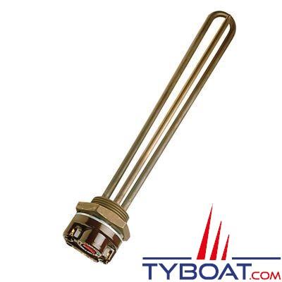 VETUS - Résistance électrique 230V    1000 Watts avec thermostat (fournie en standard avec le chauffe-eau)