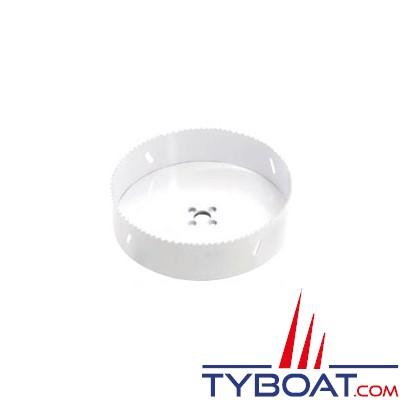 VETUS -  Scie cloche de Ø 114 mm pour réalisation trappe visite sur réservoirs plastique fibre de verre ou inox