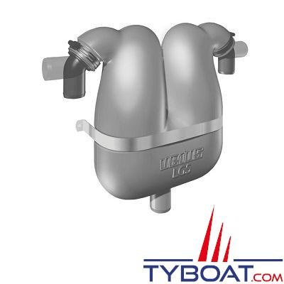 VETUS - Séparateur gaz d'échappement 38 mm avec raccord 40 mm