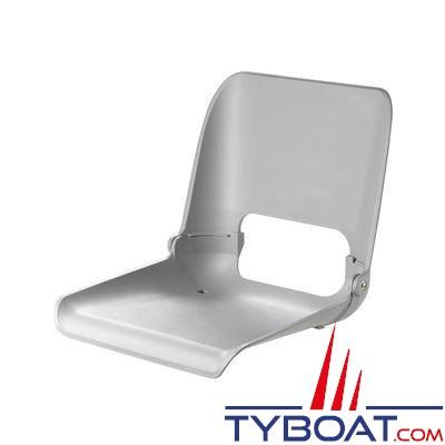 VETUS - Siège ergonomique rabattable sans coussin - gris