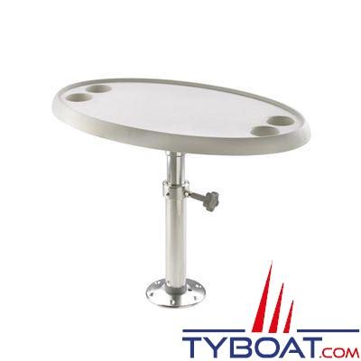 vetus pied de table t lescopique r glable 290 690 mm vetus pcms2969 tyboat com. Black Bedroom Furniture Sets. Home Design Ideas