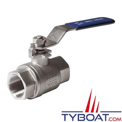 VETUS - Vanne acier inoxydable G1½ avec système de verrouillage
