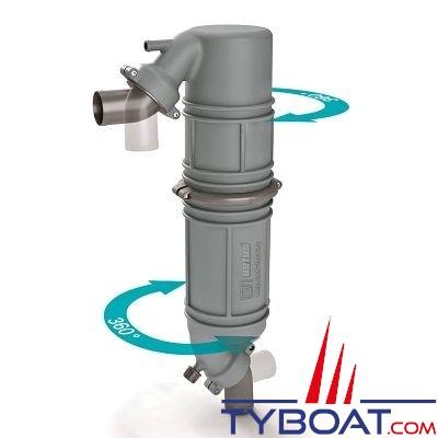 VETUS - Waterlock silencieux type NLPG 60mm