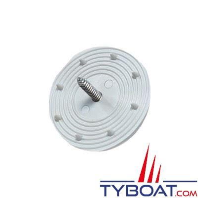 Rosaces pour installation facile des plaques d'insonorisation polypropylène x15 pièces