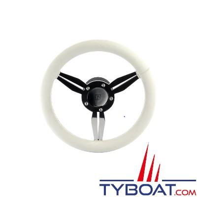 Volant Albus - Série SW - Cuir blanc -  Ø 300mm