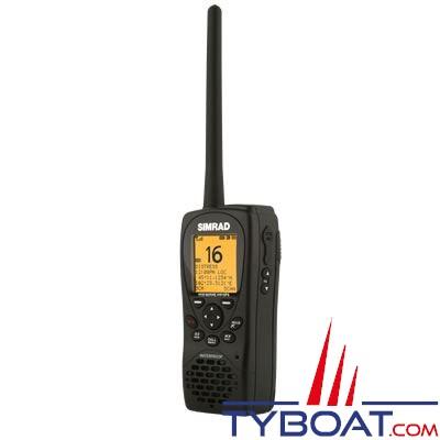 VHF marine portable avec GPS Simrad HH36 étanche flottante 5 watts