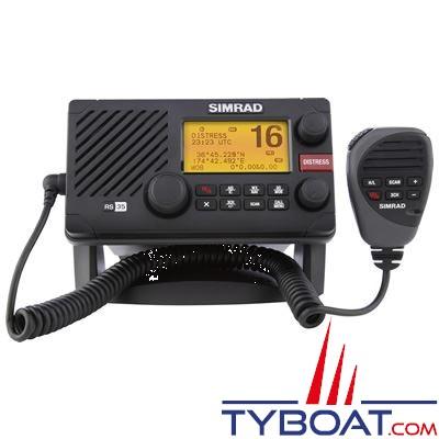 VHF marine SIMRAD RS35 DSC classe D avec récepteur AIS intégré étanche et compatible NMEA 0183 et NMEA 2000