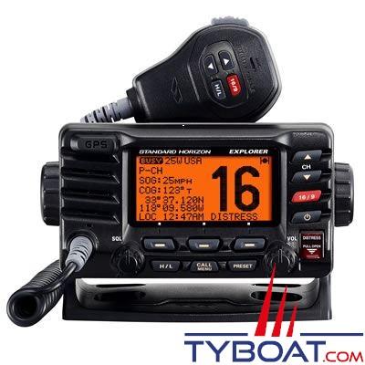 Standard Horizon - VHF marine GX1700E Explorer GPS intégré