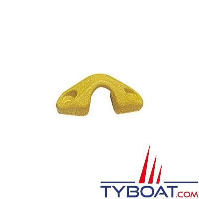 Viadana - Pontet en fibre de carbone jaune - Ø 5 à 14mm