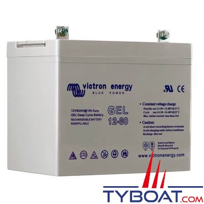 VICTRON ENERGY - Batterie GEL 12 Volts  90 Ampères.