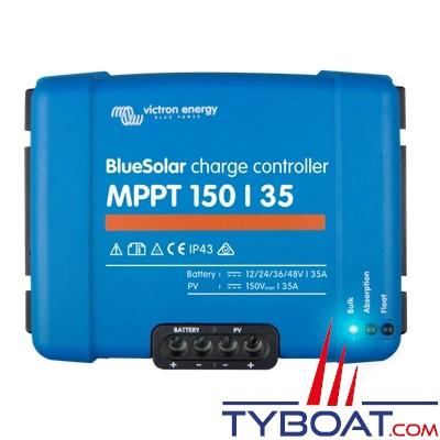 VICTRON ENERGY - BlueSolar MPPT 150/35 - Régulateur de charge MPPT 35A (150/35) 12V / 24V