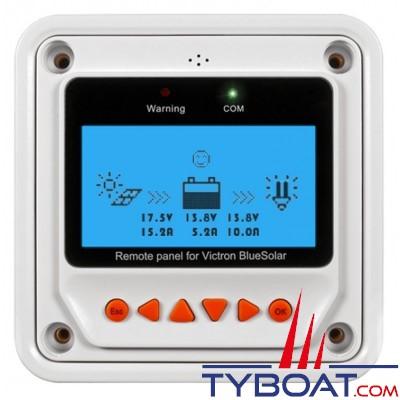VICTRON ENERGY - Panneau de contrôle pour régulateur PWM-pro panneaux solaires BlueSolar 12/24 Volts 20 Ampères.